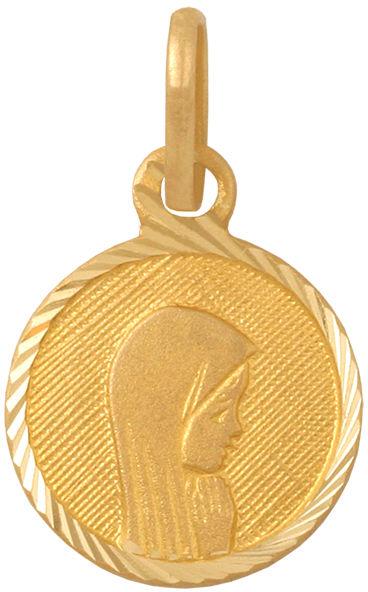 Złoty medalik 585 Święta Maria Matka Boska 0,55 g
