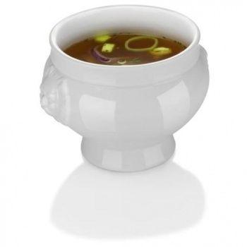 Miska na zupę porcelanowa LIONHEAD