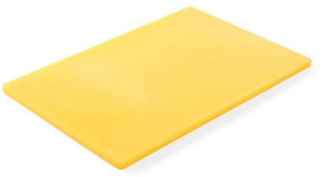 Deska z polietylenu HACCP żółta