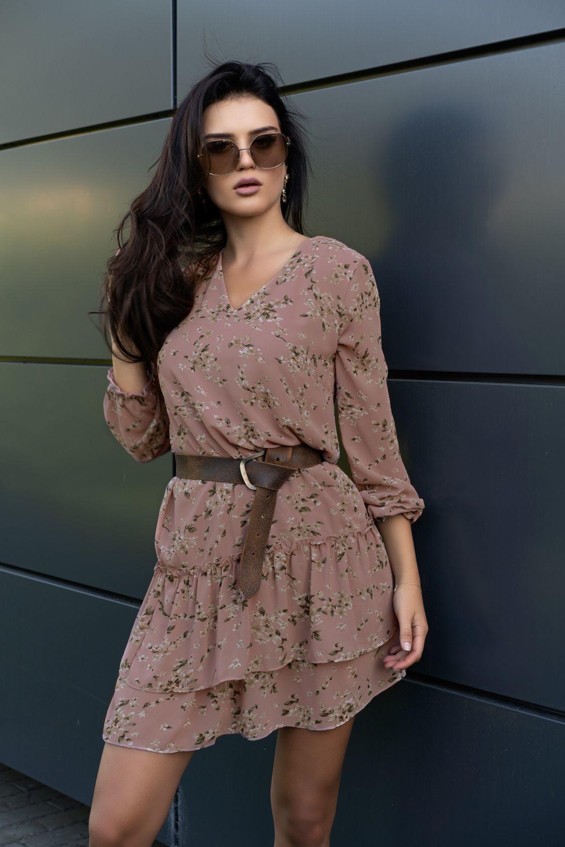 Provena Pink D104 sukienka