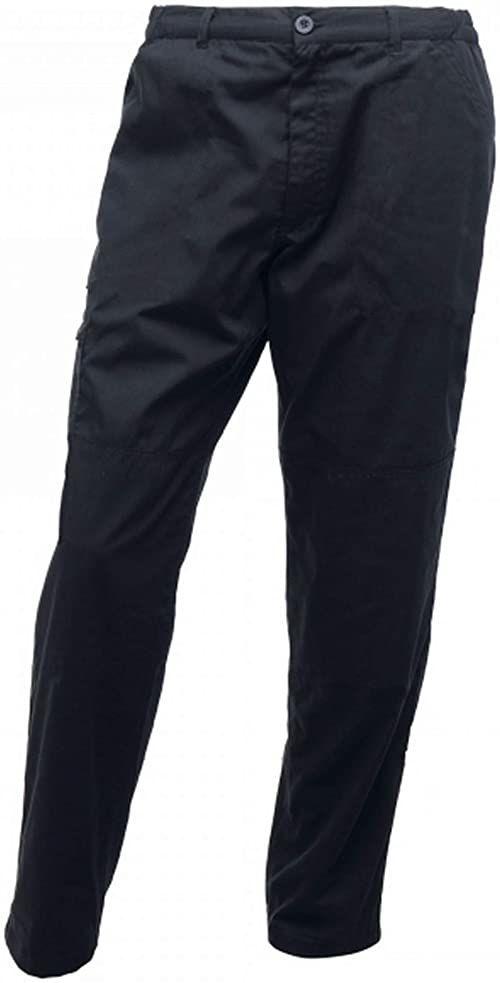 """Regatta męskie profesjonalne Pro Cargo wytrzymałe wodoodporne spodnie z wieloma kieszeniami granatowy Size: 36"""""""