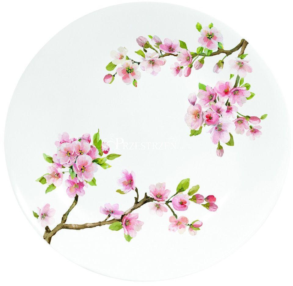 PORCELANOWY TALERZYK - Sakura - Kwitnąca Wiśnia (1083 SAKU)