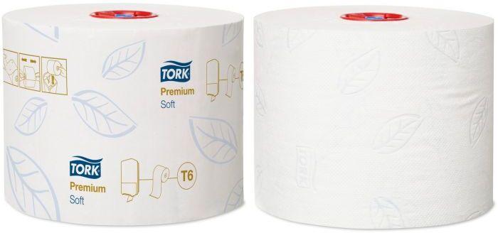 Papier Toaletowy Tork Premium rolka kompaktowa biały