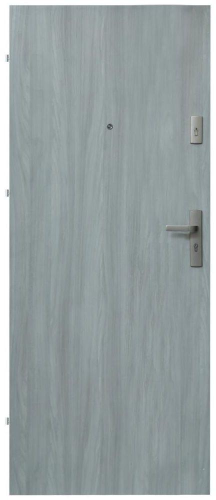 Drzwi wejściowe PRESTON Dąb frozen 80 Lewe DOMIDOR