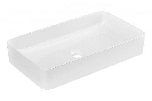 Umywalka ceramiczna 61x34x11 cm biała