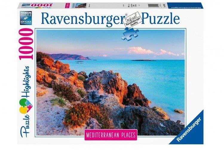 Puzzle 1000 Śródziemnomorska Grecja