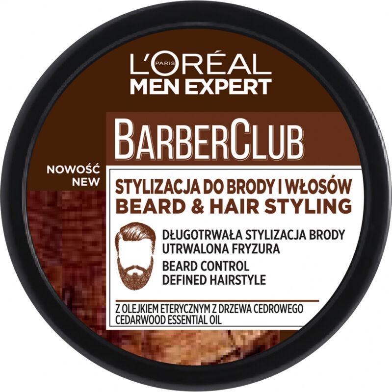 L''Oréal - Men Expert - Barber Club - Krem do stylizacji brody i włosów - 75 ml