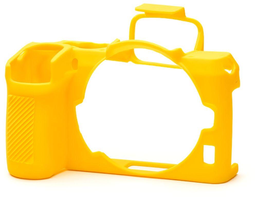 Osłona silikonowa easyCover do aparatów Nikon Z50 żółta