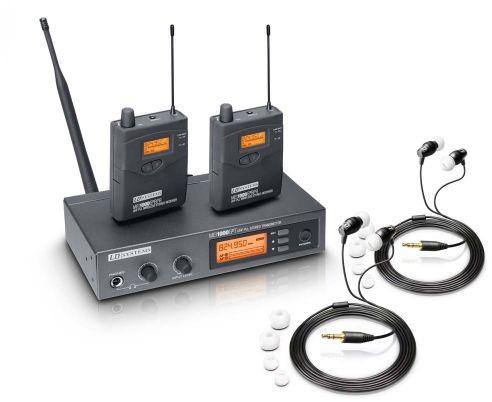 LD Systems MEI 1000 G2 BUNDLE podwójny system bezprzewodowego, dousznego monitorowania