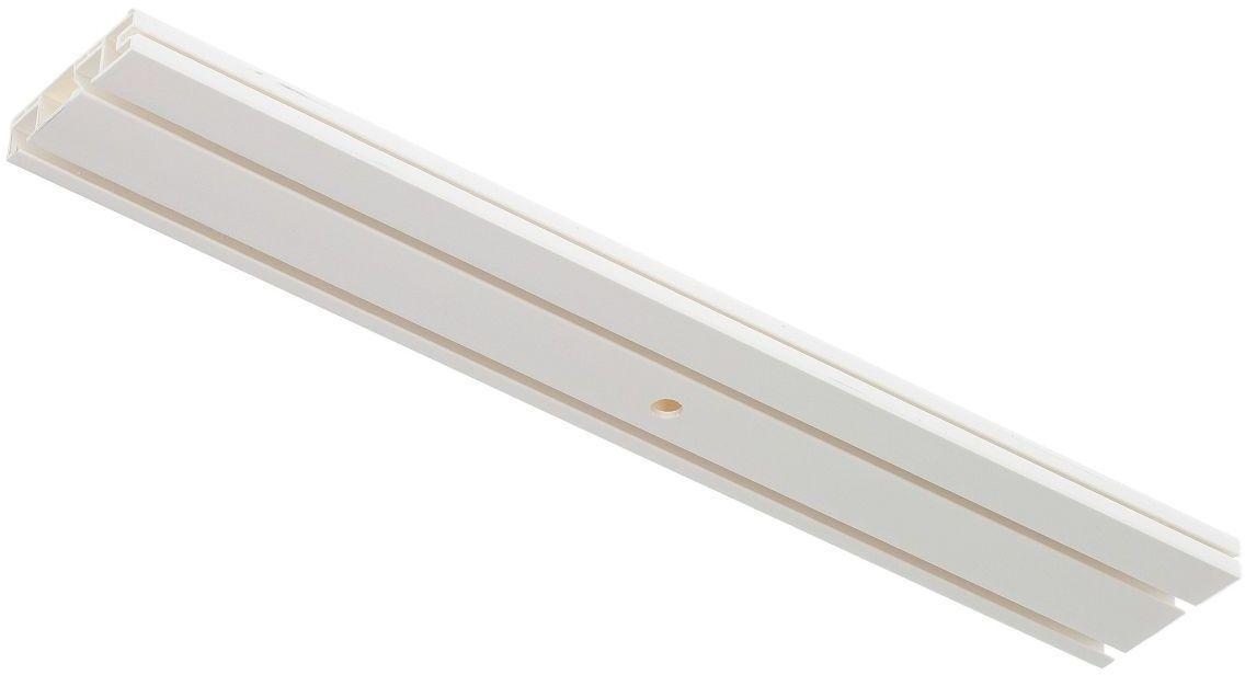 Szyna przysufitowa podwójna prosta 150cm, 150 cm