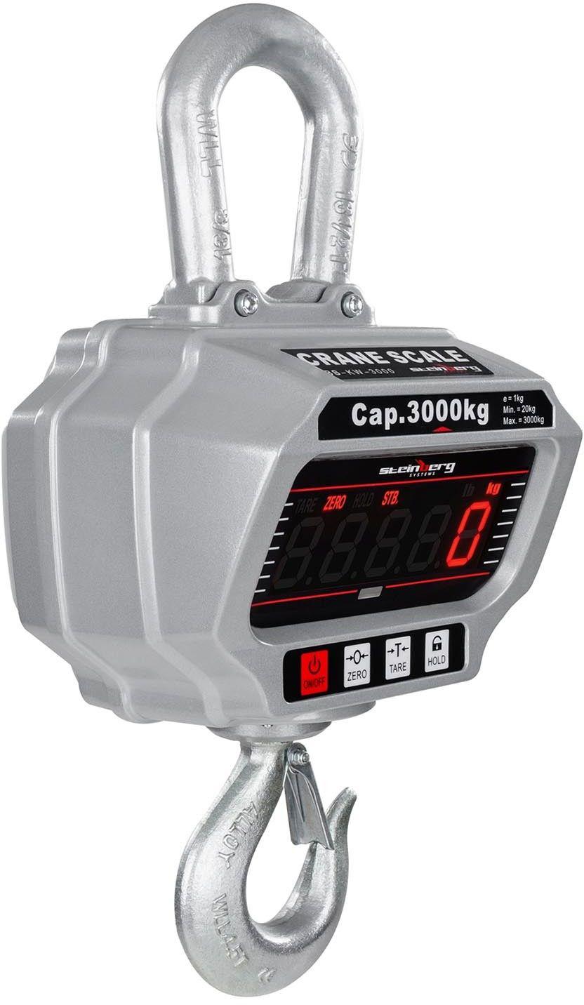 Waga dźwigowa SBS-KW-3000 - Steinberg Systems - SBS-KW-3000 - 3 lata gwarancji/wysyłka w 24h