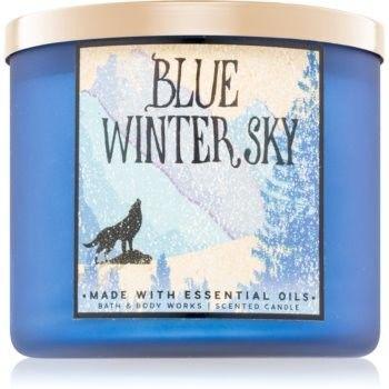 Bath & Body Works Blue Winter Sky świeczka zapachowa 411 g