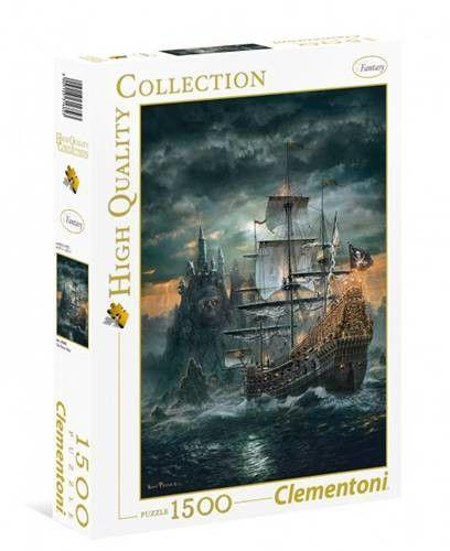 Clementoni - Clementoni Puzzle High Quality Statek Piracki 1500 el. 31682