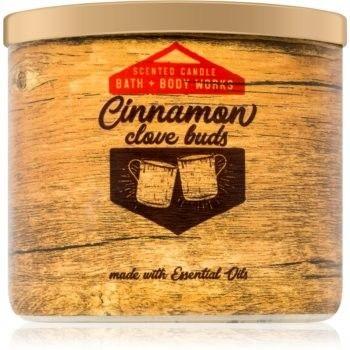 Bath & Body Works Cinnamon & Clove Buds świeczka zapachowa 411 g