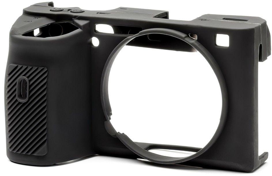 Osłona silikonowa easyCover do aparatu Sony A6600 czarna