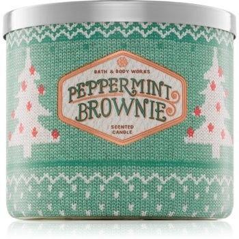 Bath & Body Works Peppermint Brownie świeczka zapachowa 411 g