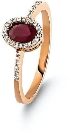 Złoty pierścionek PZD6000R - Diament