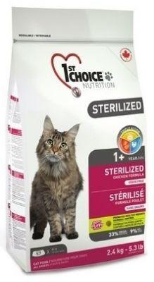1st Choice Cat Sterilized No Grain 2,4 kg