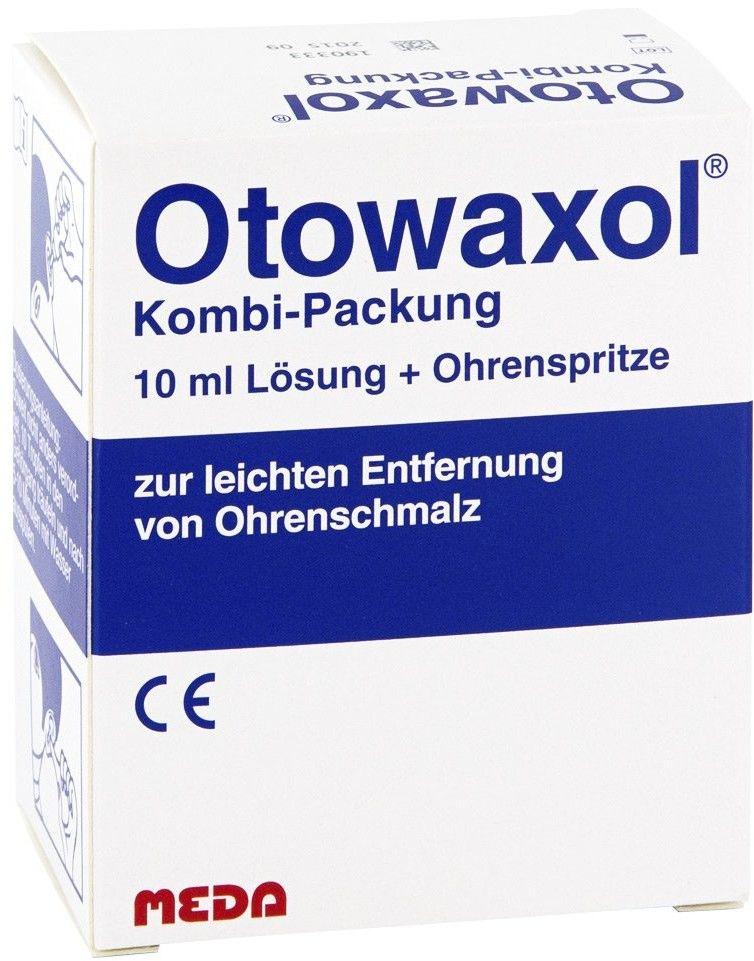 Otowaxol zestaw do usuwania woskowiny usznej
