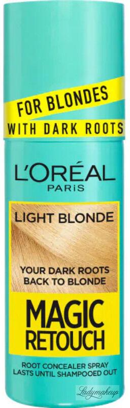 L''Oréal - MAGIC RETOUCH - Spray do błyskawicznego retuszu odrostów - 9.3 - JASNY BLOND