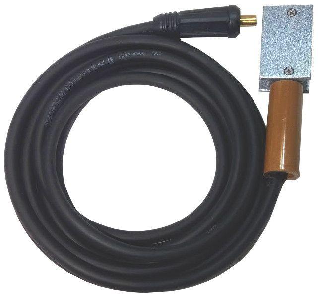 Przewód spawalniczy masowy 300A-50mm2 z zaciskiem magnetycznym