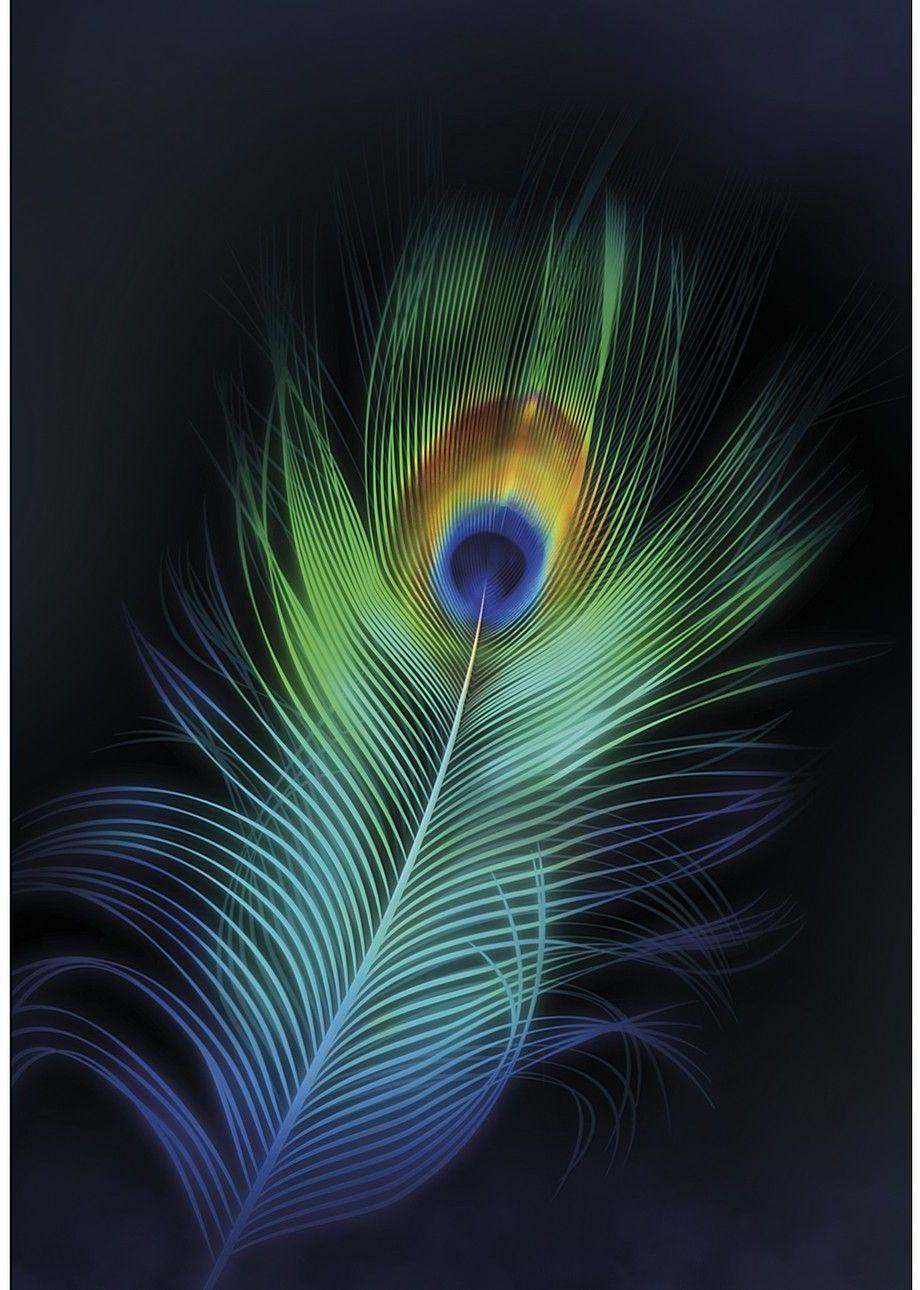 Obraz na płótnie Peacock Eye