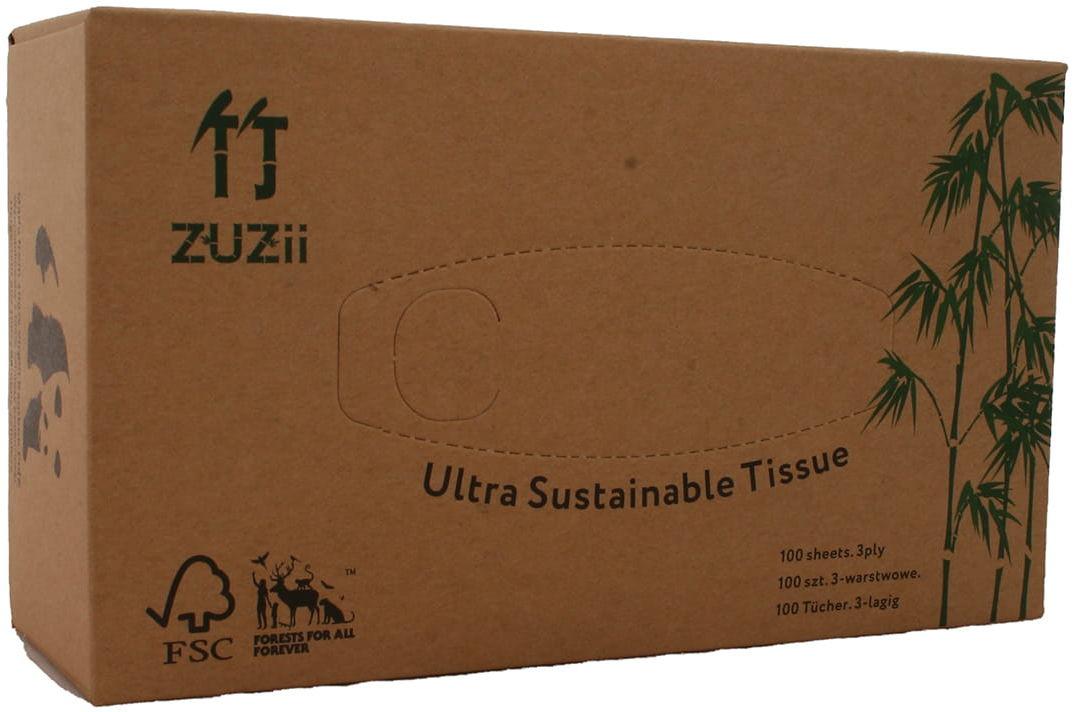 Chusteczki bambusowe FSC - Yuju - 100 szt
