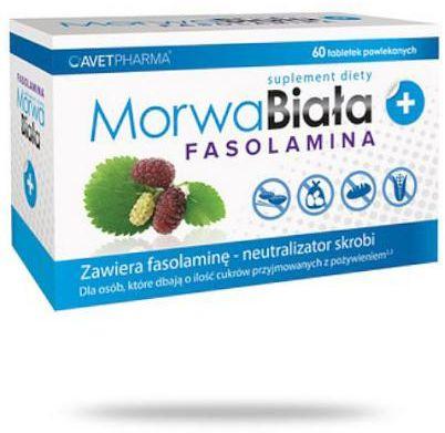 Morwa Biała Plus Fasolamina 60 tabletek
