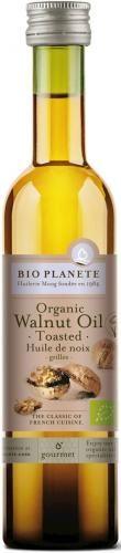 Olej z orzechów włoskich (z prażonych orzechów) BIO 100 ml Bio Planete