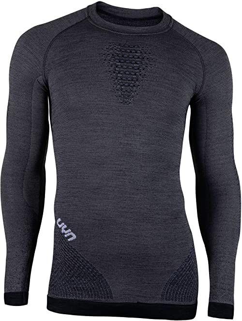 UYN męska koszulka kompresyjna Fusyon, szary York/Avio/biały, mały/średni