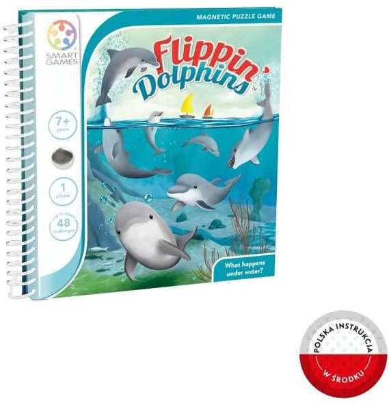 Smart Games Flippin'' Dolphins (ENG) IUVI Games - IUVI Games