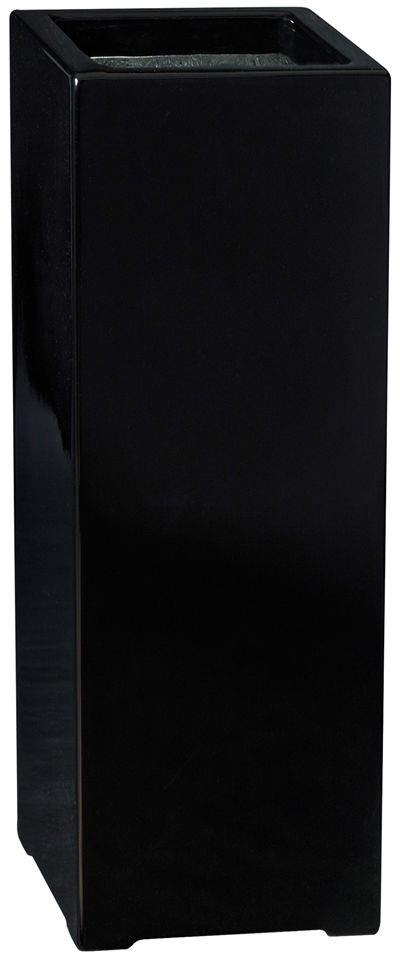 Donica z włókna szklanego D973B czarny połysk