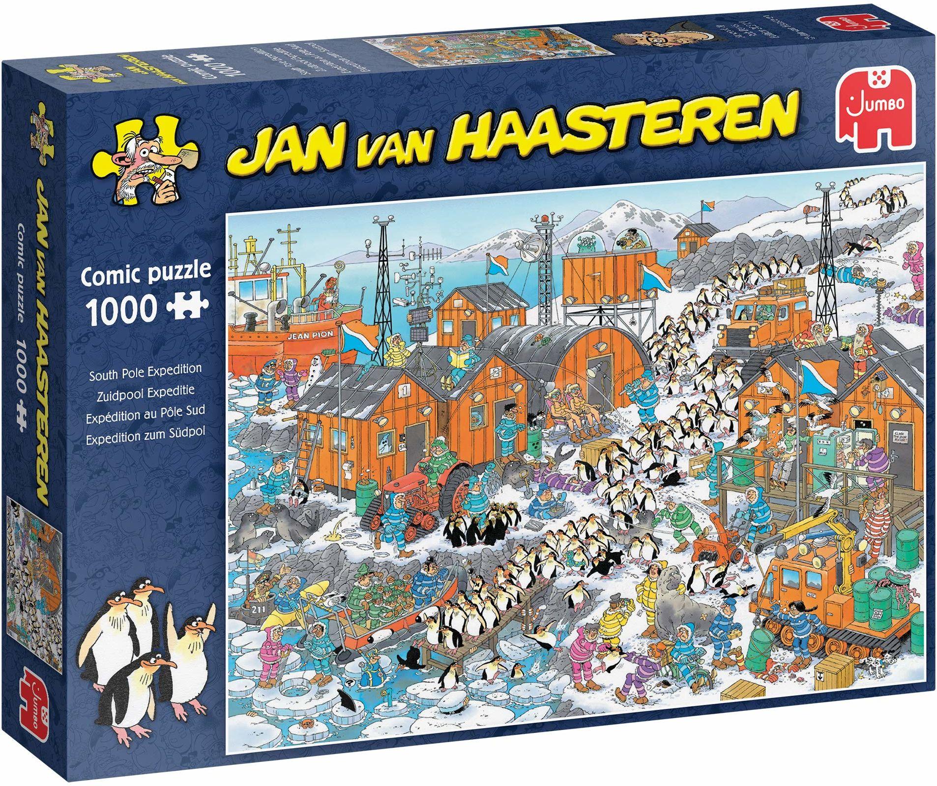 Jumbo Jan van Haasteren South Pole Expedition.