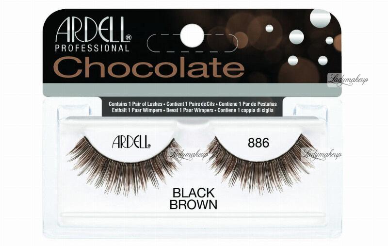 ARDELL - Chocolate Lashes - Brązowo-czarne rzęsy na pasku - 886
