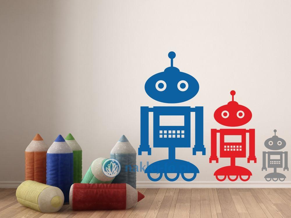naklejka Robot 1 robotyka