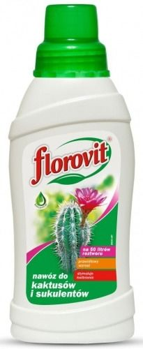 Nawóz do kaktusów i sukulentów  0,5 l florovit florowit