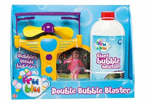 BUBBLES DKF8205 Fru Blu Bańka W Bańce / Double Bubble Blaster ,Multicolored