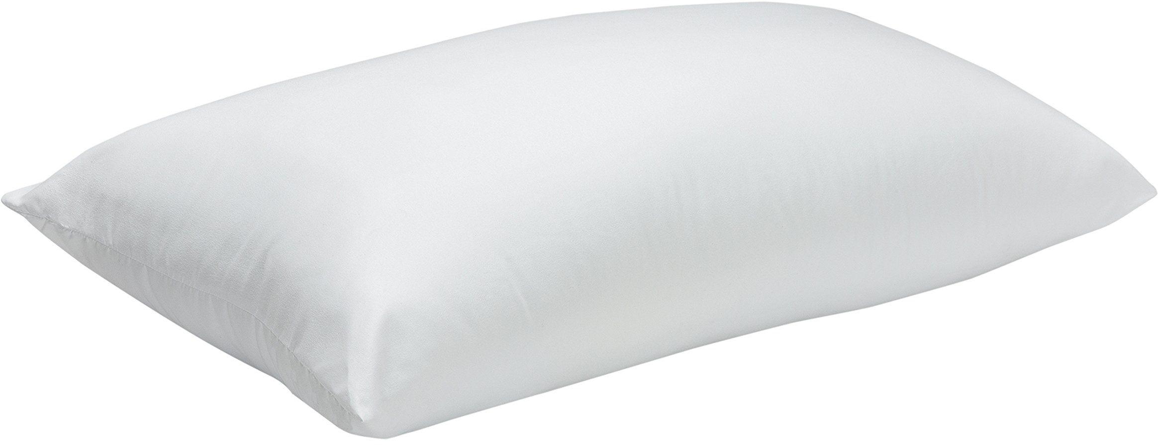 Pikolin Home - Poduszka z włókna pod głowę, z powłoką z aloesu, średnio miękka, 40 x 90 cm