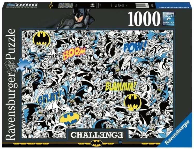 Puzzle 1000 Challenge. Batman - Ravensburger