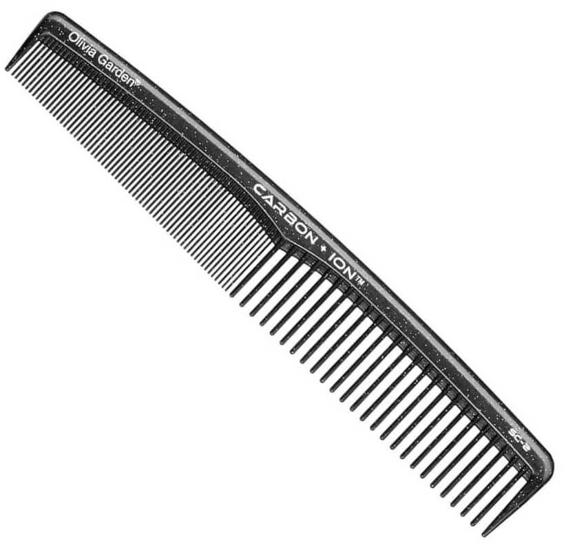 Olivia Garden SC2 Carbon + ION Grzebień karbonowy do rozczesywania włosów