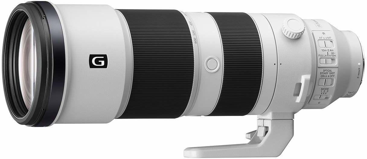 Sony FE 200 600 mm f/5.6 6.3 G OSS Pełnoklatkowy superteleobiektyw zmiennoogniskowy (SEL200600G)