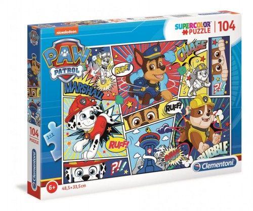 """Puzzle 104 Psi Patrol """"komiksowy obrazek"""""""