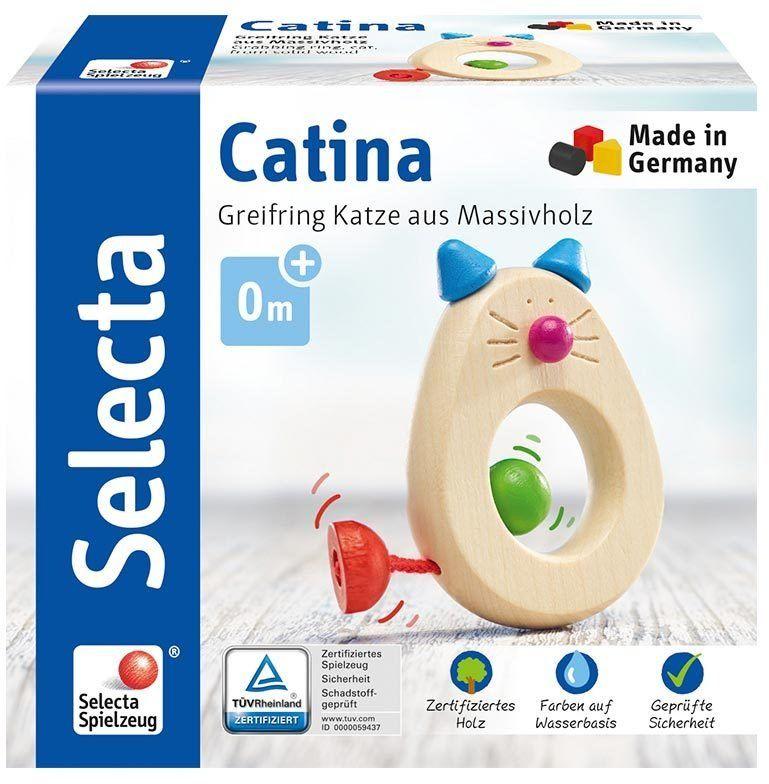 Selecta 61005 Kotka Catina, chwytak z drewna, 8,5 cm