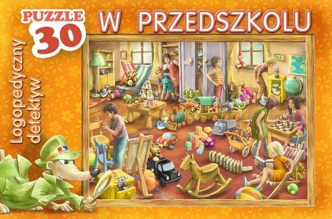 Puzzle Logopedyczny detektyw W przedszkolu 30 ZAKŁADKA DO KSIĄŻEK GRATIS DO KAŻDEGO ZAMÓWIENIA