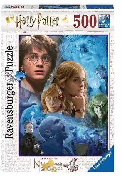 Puzzle 500 Harry Potter w Hogwarcie - Ravensburger