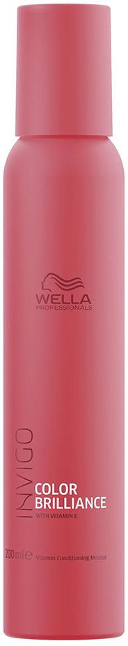 Wella Invigo Color Brillance Odżywka pielęgnująca w piance do włosów farbowanych 200ml