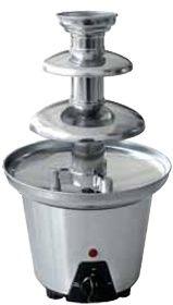 Czekoladowa fontanna ze stali nierdzewnej 600 g 90W 220-240V śr. 190x(H)330mm