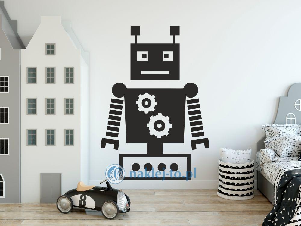 naklejka Robot 2 robotyka