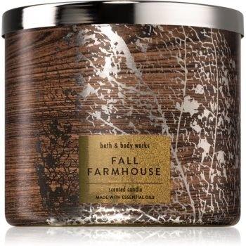 Bath & Body Works Fall Farmhouse świeczka zapachowa 411 g