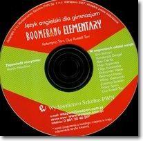 Boomerang Elementary Płyta Język angielski dla gimnazjum